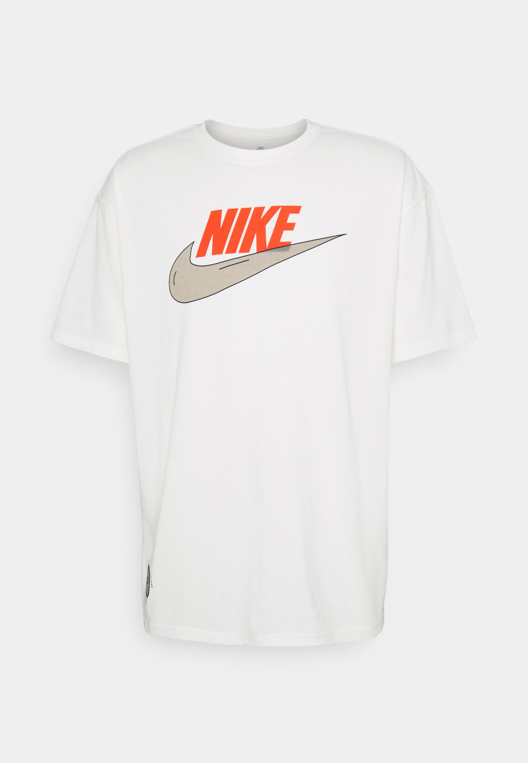 Homme TEE PURPOSE - T-shirt imprimé - pure/cream