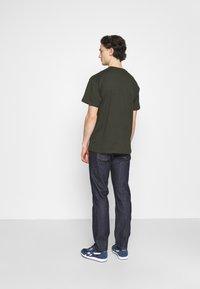 Nudie Jeans - GRITTY JACKSON - Straight leg -farkut - dark blue denim - 2