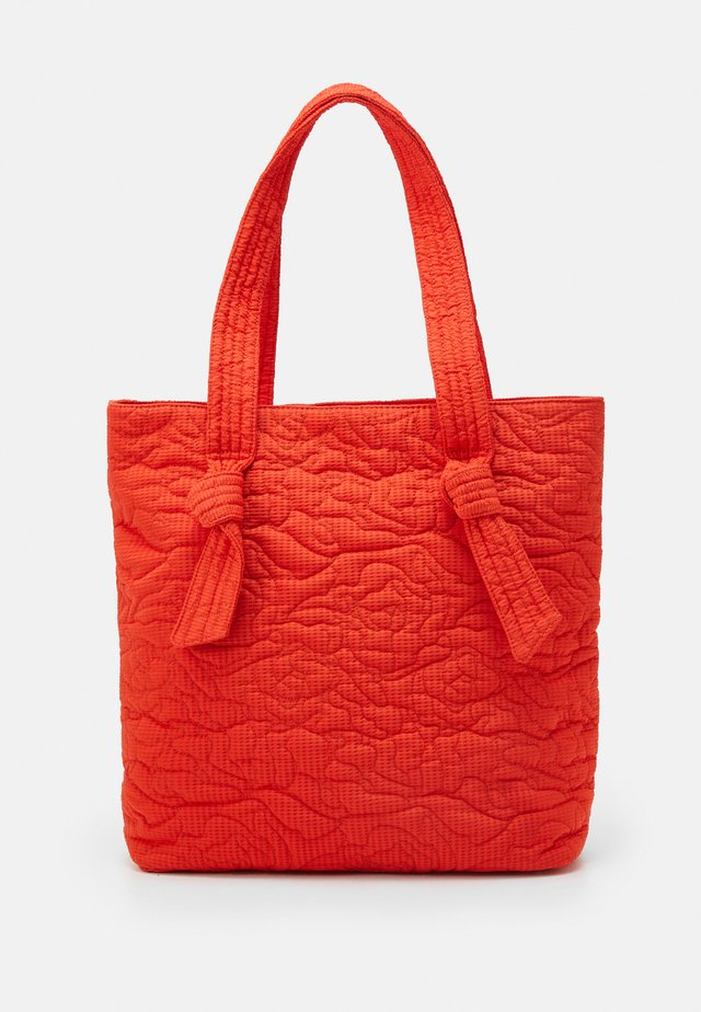 DALCA POSY - Shoppingveske - orange red