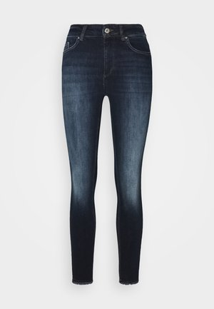 ONLBLUSH LIFE  - Jeans Skinny Fit - dark blue denim