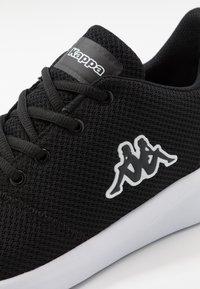 Kappa - CUMBER - Sports shoes - black/white - 5
