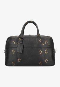 Cowboysbag - Weekend bag - snake black/gold - 0