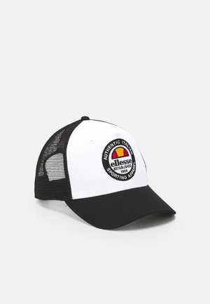 PONTRA TRUCKER UNISEX - Caps - black/white