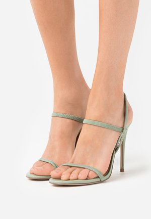 GABRIELLA  - High heeled sandals - mint green