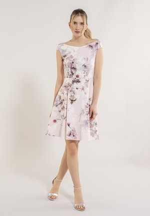 Day dress - light rose / multi
