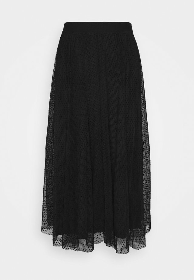 ONLETTA SKIRT  - Jupe trapèze - black