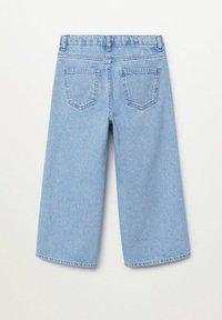 Mango - Flared Jeans - bleu moyen - 1