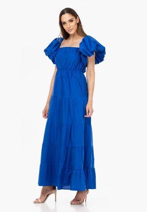 PUFFÄRMELN - Maxi dress - blue