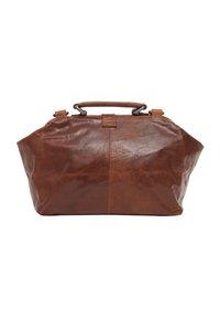 Gusti Leder - dark brown - Käsilaukku - honey brown - 3