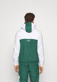 Lacoste Sport - TRACK SUIT - Trainingspak - bottle green/white/black - 3