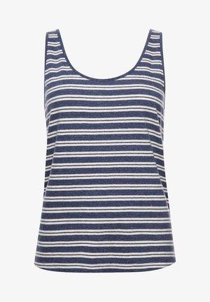 Toppi - navy marl stripe