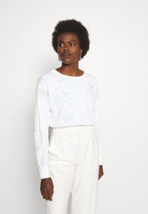 FLORAL - Sweatshirt - blue combo