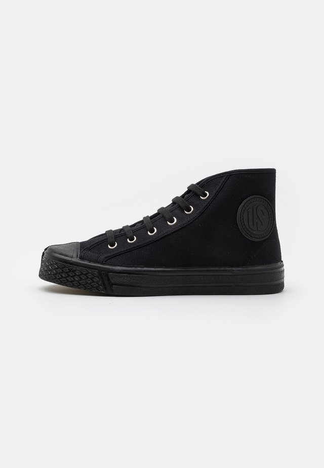 MILITARY HIGH TOP - High-top trainers - black