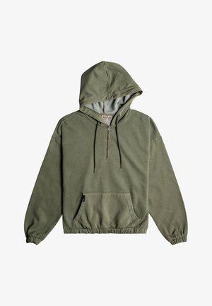 DOWN THE LINE - Hoodie - thyme