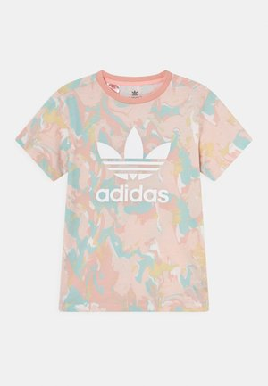 TEE - Print T-shirt - pink tint/multicolor