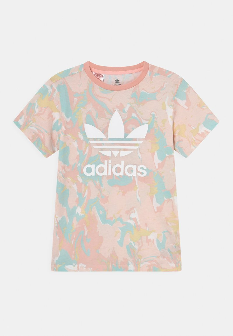 adidas Originals - TEE - Print T-shirt - pink tint/multicolor