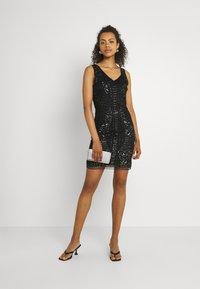 Molly Bracken - LADIES DRESS - Cocktail dress / Party dress - snake black - 1