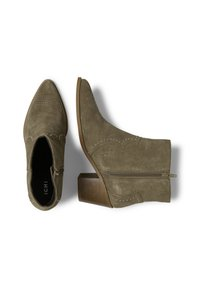 ICHI - IAFANN SUEDE BOOT - Ankle boots - natural - 1