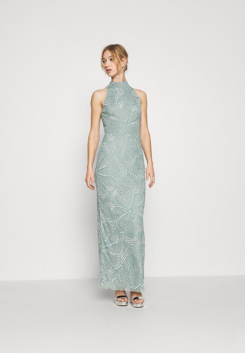 Lace & Beads - NAEVA MAXI - Ballkjole - grey as nalani
