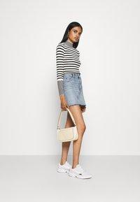 Fashion Union - STRIPEY - Trui - black/white - 1