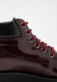 Bianco - BIACASS WORK - Ankle boot - wine red - 2