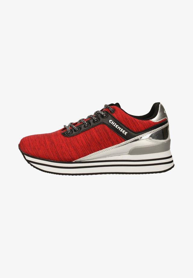 Baskets basses - red/black