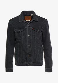 THE TRUCKER JACKET - Denim jacket - liquorice trucker