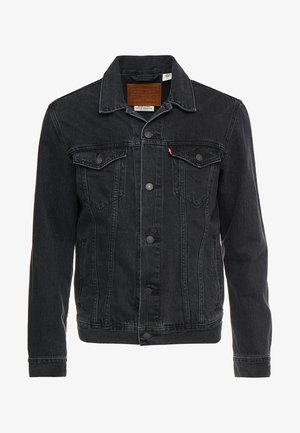THE TRUCKER JACKET - Džínová bunda - liquorice trucker
