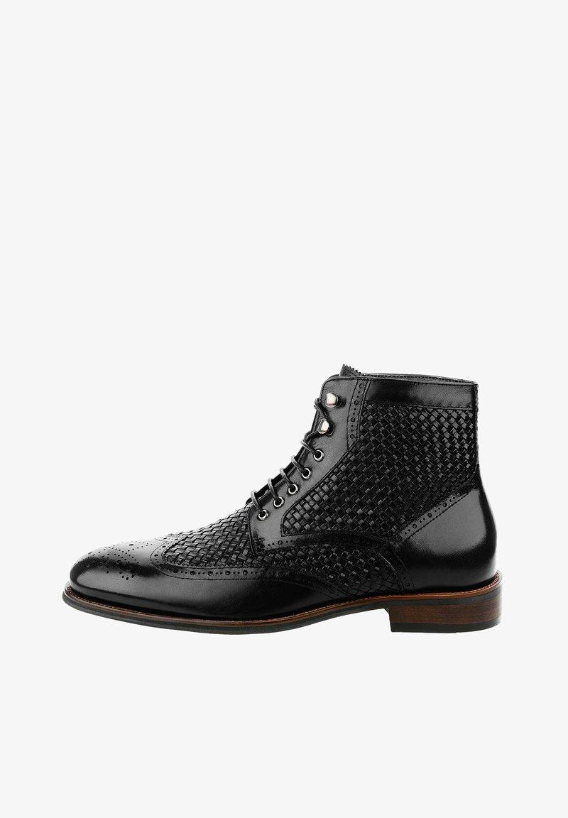 PRIMA MODA - PALINO - Šněrovací boty - black