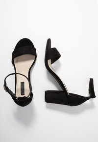 Nly by Nelly - BLOCK MID - Riemensandalette - black - 3