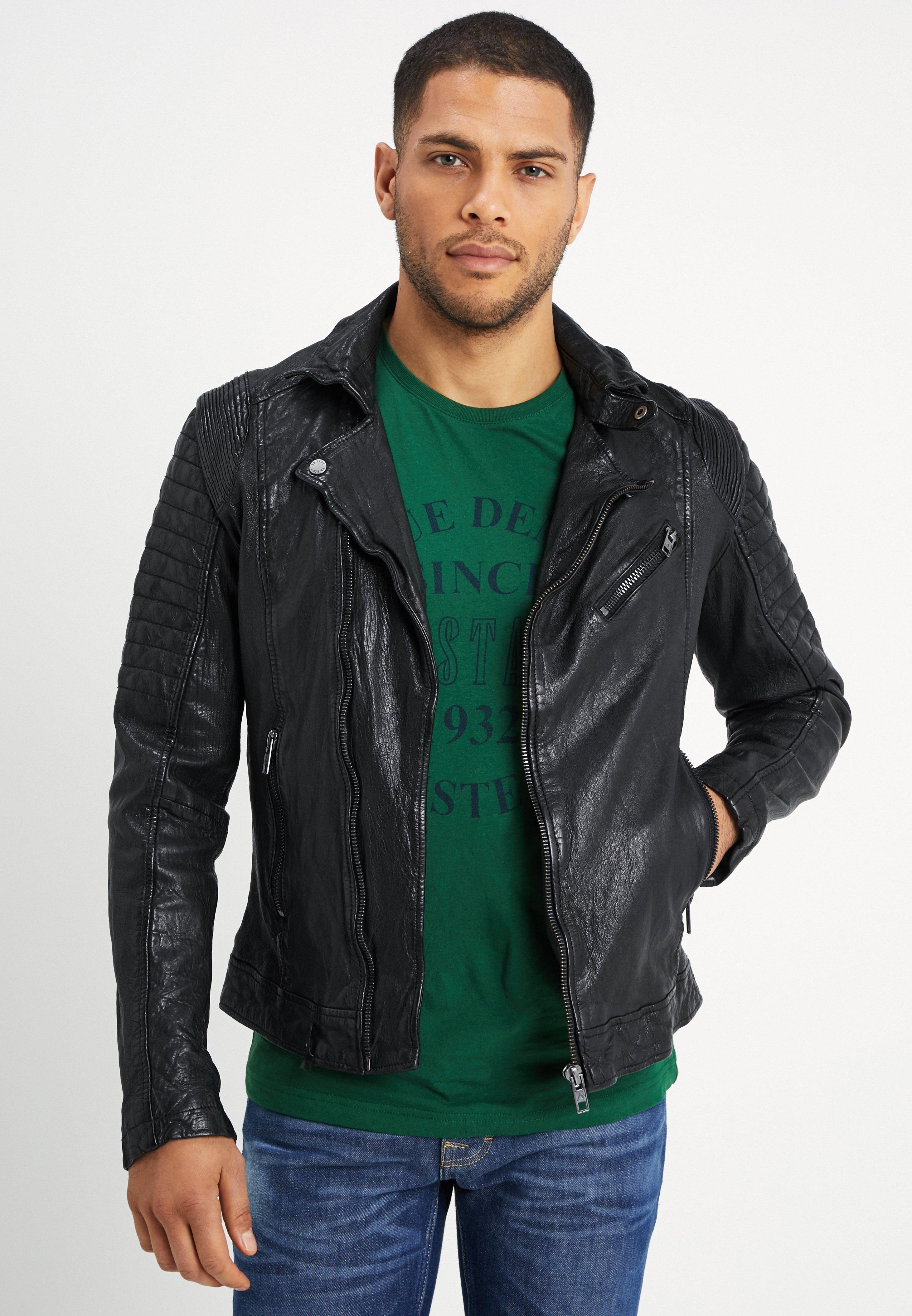 Men BESPACE - Leather jacket