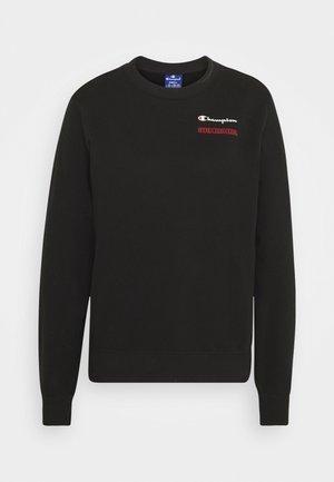 CREWNECK - Collegepaita - black