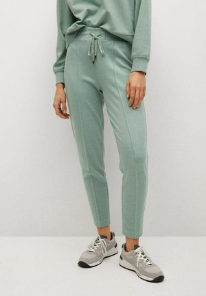 PIQUE8 - Pantalon de survêtement - pastelgroen