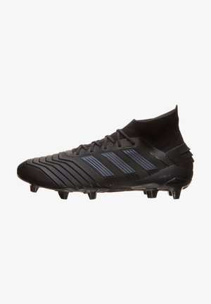 Moulded stud football boots - core black/utility black
