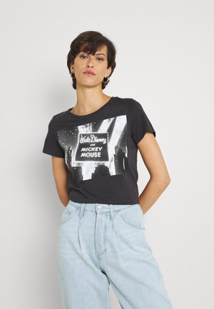ONLMICKEY MOUSE OLD - T-shirt z nadrukiem - phantom