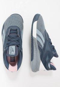 Reebok - NANO X - Trainings-/Fitnessschuh - metallic grey/indigo/white - 1