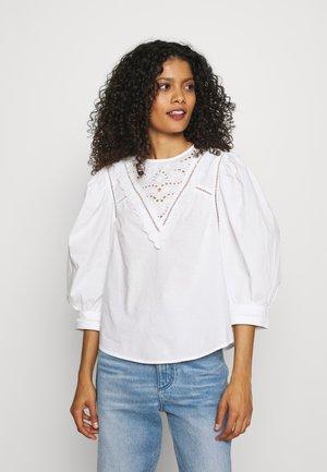 BLOUSE ANNELI - Blouse - white