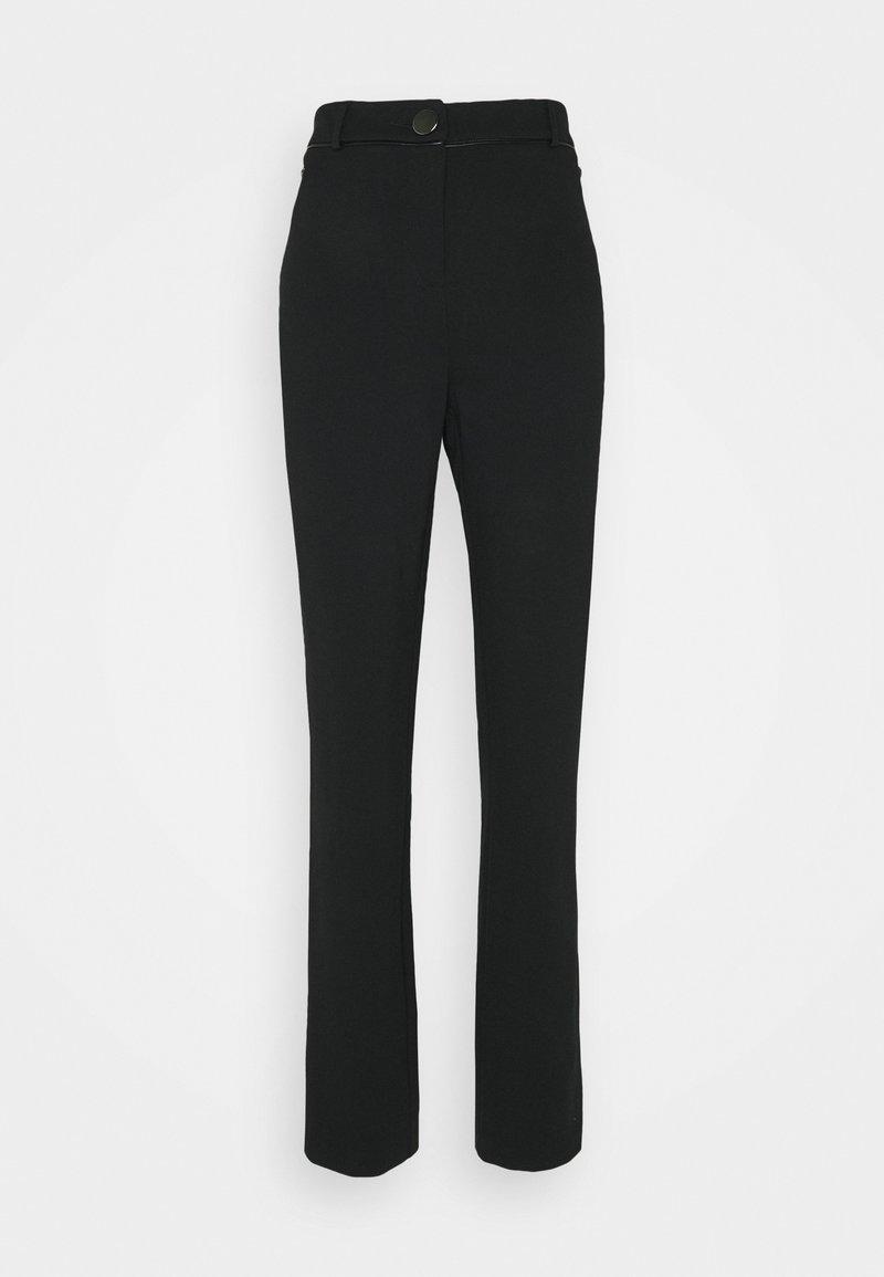 Wallis Tall - PONTE TROUSER - Kalhoty - black