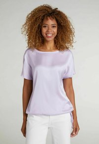 Oui - Basic T-shirt - orchid petal - 0