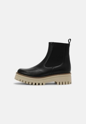 SAVINA - Platform ankle boots - black