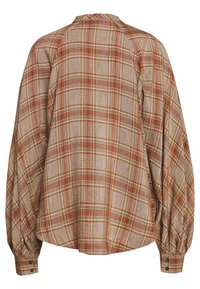 Rika - SOLLER - Button-down blouse - brown/red - 1