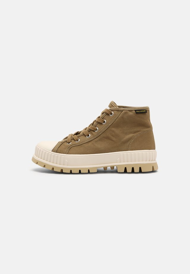 PALLASHOCK MID UNISEX - Sneakers high - olive
