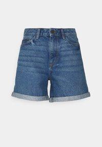 Noisy May Tall - NMSMILEY  - Shorts di jeans - medium blue denim - 0