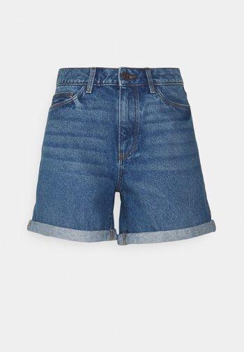 NMSMILEY  - Shorts di jeans - medium blue denim