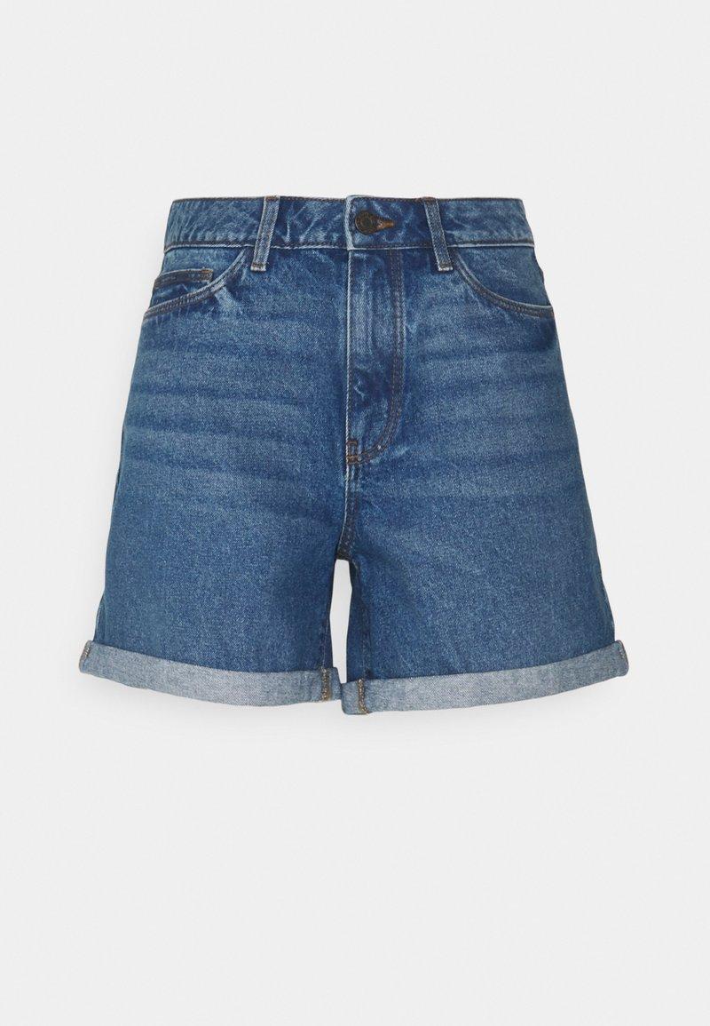 Noisy May Tall - NMSMILEY  - Shorts di jeans - medium blue denim