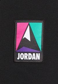 Jordan - MOUNTAINSIDE - Felpa con cappuccio - black/barely volt - 2