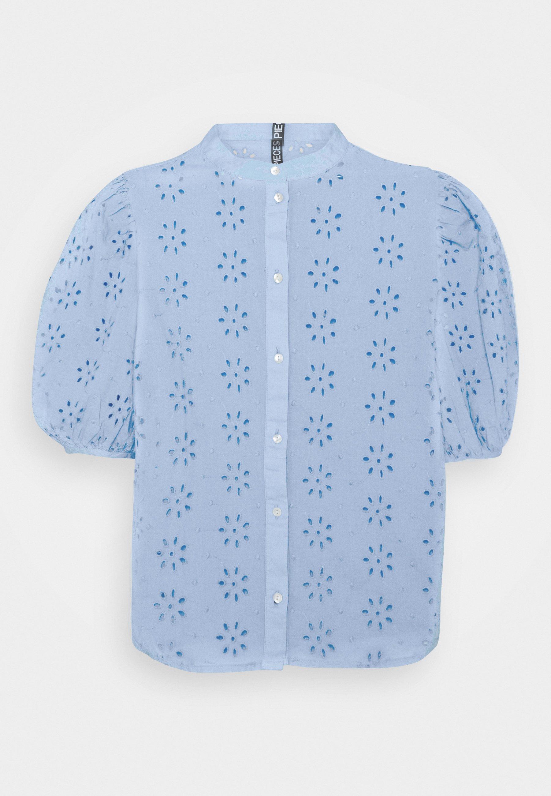 Women PCTILLIE - Button-down blouse