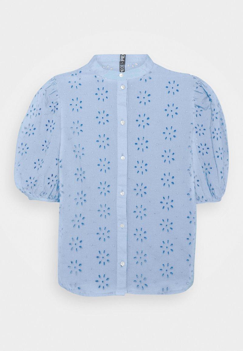 Pieces - PCTILLIE - Button-down blouse - vista blue