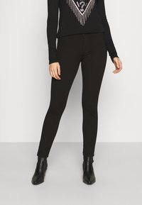 Guess - SHAPE UP - Pantaloni - jet black a996 - 0