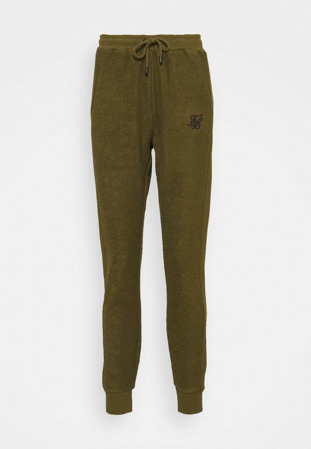 Teplákové kalhoty - khaki
